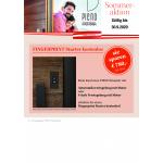 Beim Kauf einer Pieno Haustür Motorschloss und Fingerprint kostenlos
